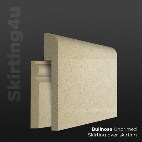 Bullnose MDF Skirting Board Cover (Skirting Over Skirting)