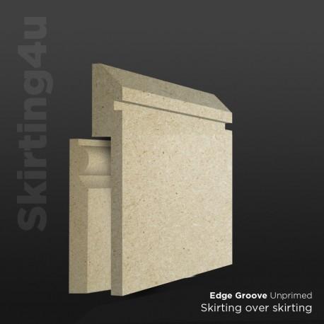 Edge Groove MDF Skirting Board Cover (Skirting Over Skirting)