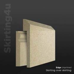 Edge MDF Skirting Board Cover (Skirting Over Skirting)