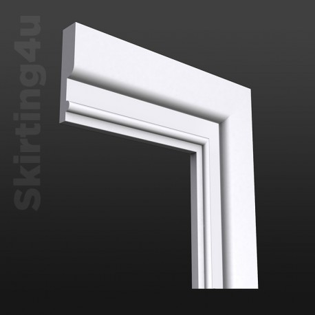 Ripple MDF Architrave White Primed