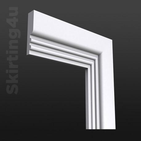 Ripple 2 MDF Architrave White Primed