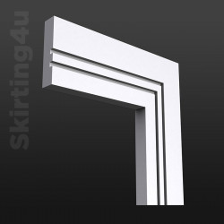 Square Groove 2 MDF Architrave