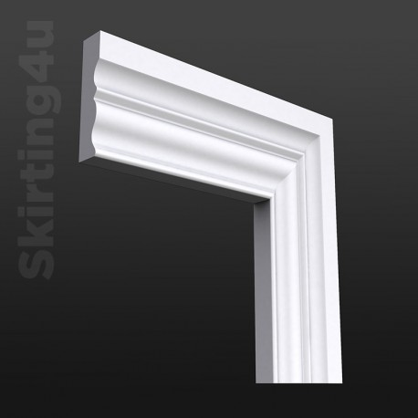 Asmara 3 MDF Architrave White Primed