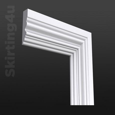 Asmara 4 MDF Architrave White Primed