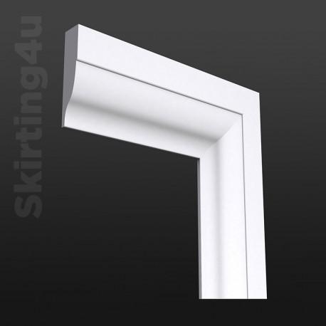 Asmara 5 MDF Architrave White Primed