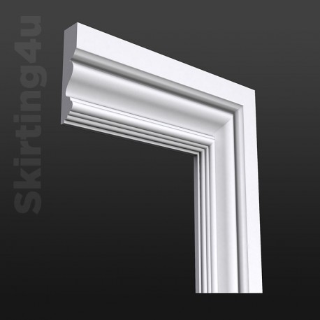 Victorian MDF Architrave White Primed