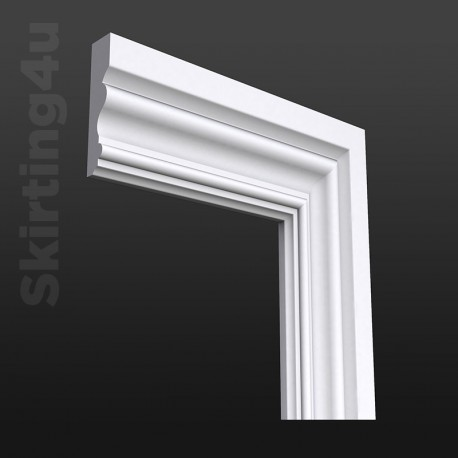 Victorian 2 MDF Architrave White Primed