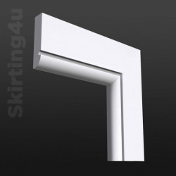 Bullnose Groove MDF Architrave SAMPLE