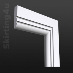 Bullnose Groove 2 MDF Architrave SAMPLE