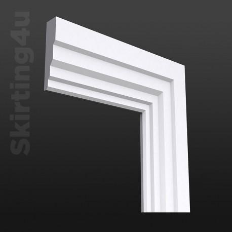 Stepped MDF Architrave White Primed