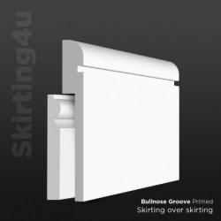 Bullnose Groove MDF Skirting Cover SAMPLE
