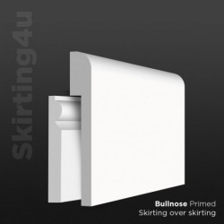Bullnose MDF Skirting Cover SAMPLE