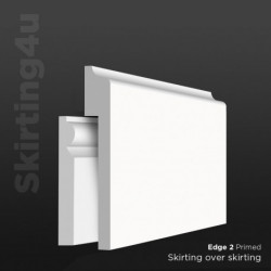 Edge 2 MDF Skirting Cover SAMPLE