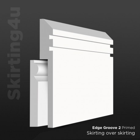 Edge Groove 2 MDF Skirting Cover SAMPLE