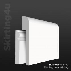 Mini Bullnose MDF Skirting Cover SAMPLE