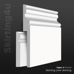 Ogee 2 MDF Skirting Cover SAMPLE