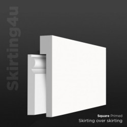 Square MDF Skirting Cover SAMPLE