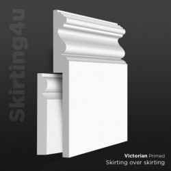 Victorian MDF Skirting Cover SAMPLE