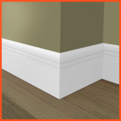 Bullnose Groove 2 MDF Skirting Board