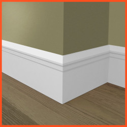 Edge Groove 2 MDF Skirting Board