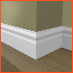 Torus 2 MDF Skirting Board