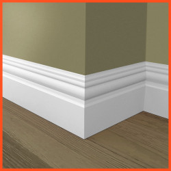 Antique 2 MDF Skirting Board