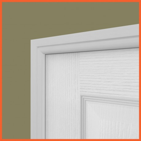 Bullnose Grooved MDF Architrave White Primed