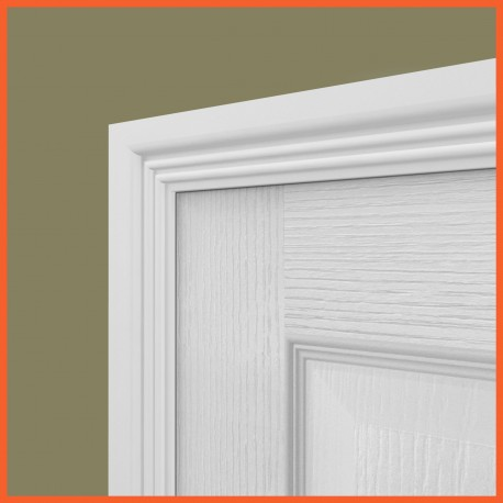 Ripple 2 MDF Architrave White Primed