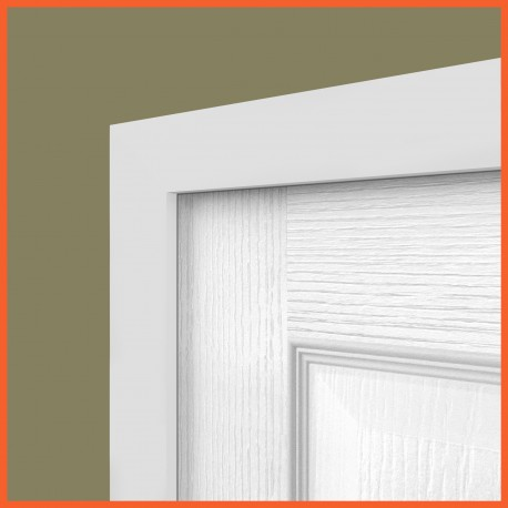 Square MDF Architrave White Primed