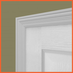 Antique MDF Architrave White Primed