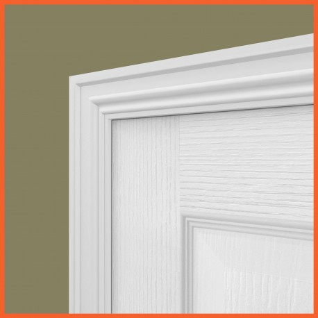 Colonial MDF Architrave White Primed