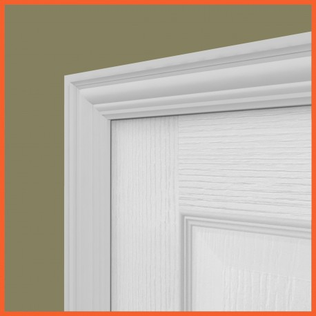 Antique 2 MDF Architrave White Primed