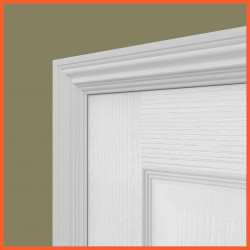 Asmara 4 MDF Architrave White Primed