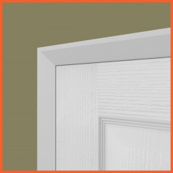 Chamfer MDF Architrave White Primed