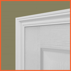 Ogee 2 MDF Architrave White Primed