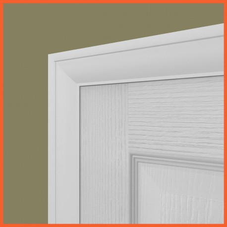 Ovolo MDF Architrave White Primed