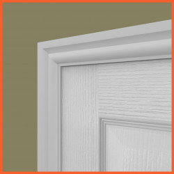 Torus 2 MDF Architrave White Primed