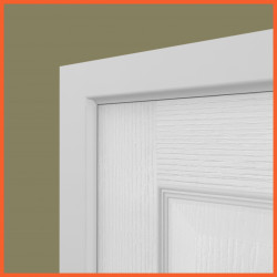 Edge 2 MDF Architrave White Primed