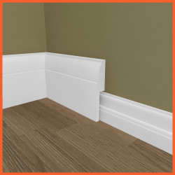 Ovolo MDF Skirting Board Cover (Skirting Over Skirting)