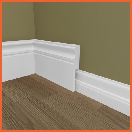 S4U 327 MDF Skirting Board Cover (Skirting Over Skirting)