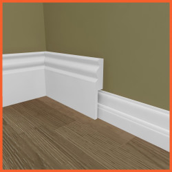 Regency MDF Skirting Board Cover (Skirting Over Skirting)