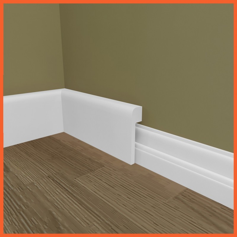Bullnose Mdf Skirting Board Cover Skirting Over Skirting