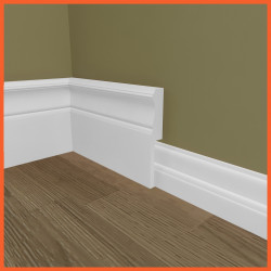 Windsor MDF Skirting Board Cover (Skirting Over Skirting)