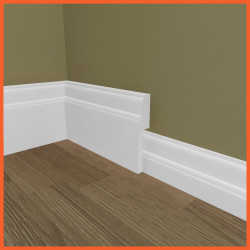 Lambs Tongue MDF Skirting Board Cover (Skirting Over Skirting)