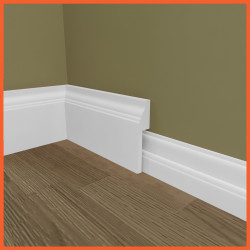 Roux MDF Skirting Board Cover (Skirting Over Skirting)