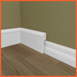 Edge Groove MDF Skirting Board Cover (Skirting Over Skirting)
