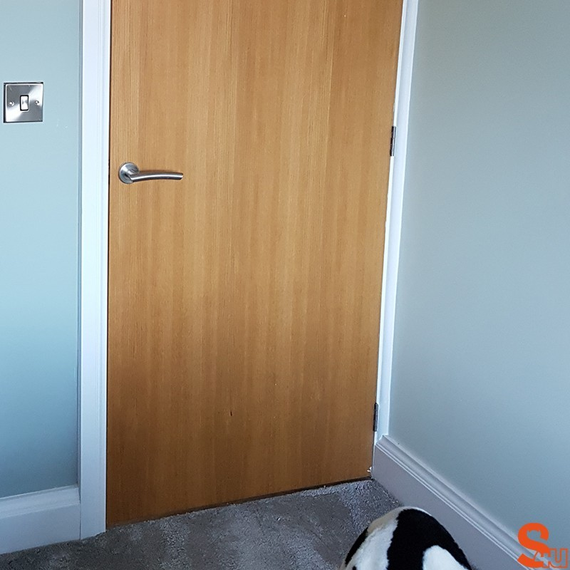 how to fix mdf skirting board