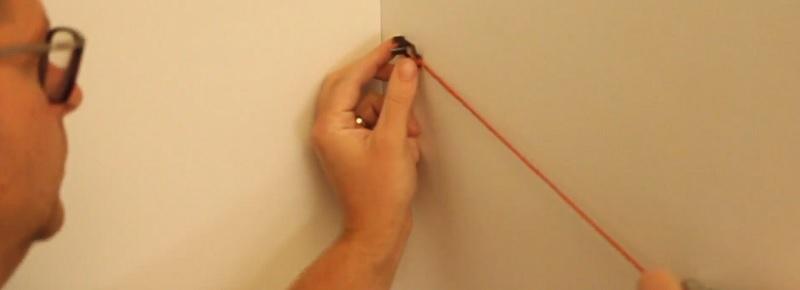 chalk line for dado rail