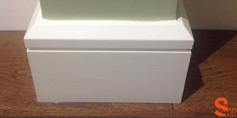 modern edge groove skirting board