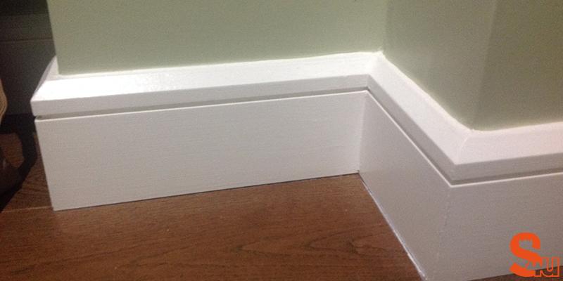 edge groove modern skirting board